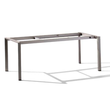 Sieger Auszieh-Tischgestell 180/235/290 x 100 cm, Aluminium graphit