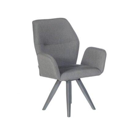 "SonnenPartner ""Mythos"" Drehsessel, Gestell Aluminium anthrazit, Sitzfläche Sunbrella® anthrazit"