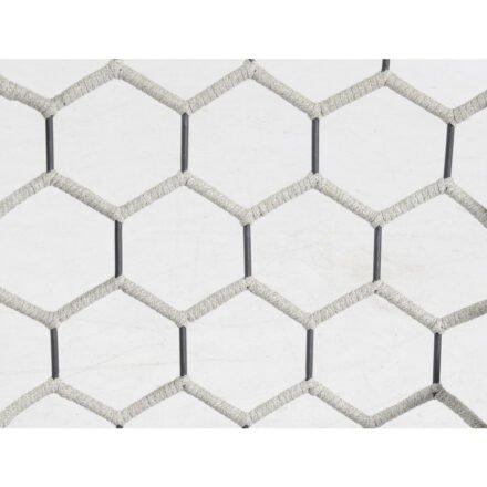 "SonnenPartner ""Yale"", Detail Aluminium, Polyrope-Geflecht silbergrau"