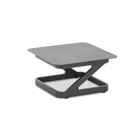 "Niehoff ""Quattro"" Beistelltisch, Aluminium anthrazit, 60x60 cm"