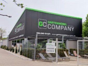 Eingang Gartenmöbel Company Karlsruhe